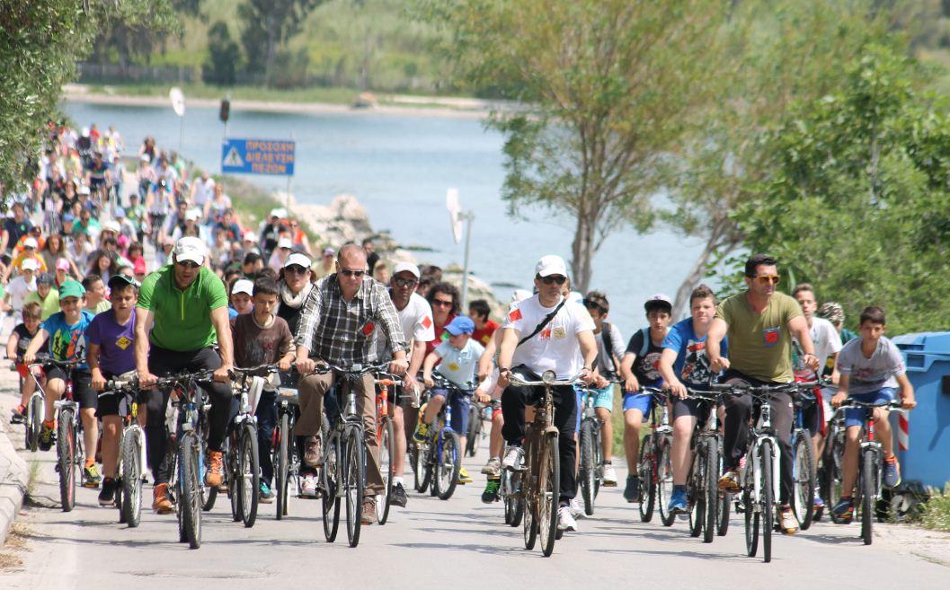 Πρέβεζα: Με μεγάλη επιτυχία και φέτος η Ποδηλατοπορεία στην Πρέβεζα